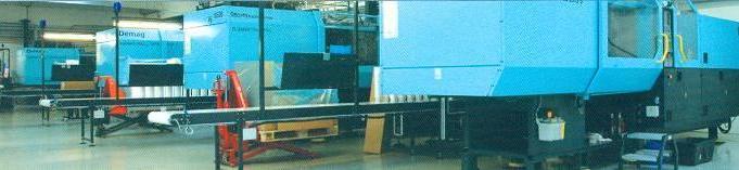 Spuitgiet machines van Toppac